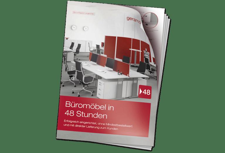 Schnellliefersortiment Büromöbel in 48 Stunden Geramöbel